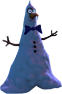 Classy Snowman Without Hat