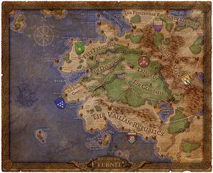 Pillars of Eternity Game Map