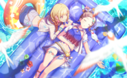 Swimming Lessons in the Sea T