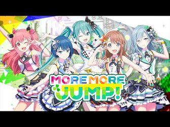 「プロジェクトセカイ」MORE_MORE_JUMP!_ユニットPV