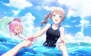 Swimming Lessons in the Sea