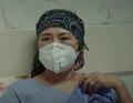 Тан Алдында - мама Максата в маске