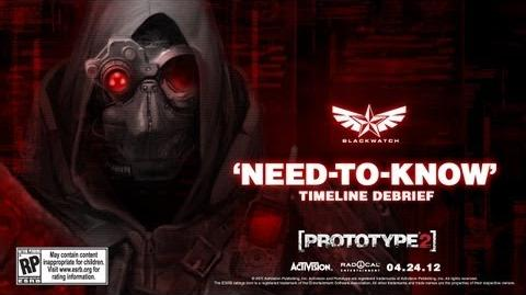 Official PROTOTYPE 2 - Need-to-Know - Timeline Debrief