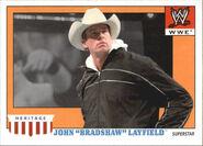 2008 WWE Heritage IV Trading Cards (Topps) John Bradshaw Layfield 24