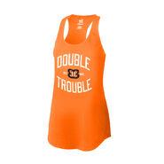 The Bellas Double Trouble Women's Racerback Tank Top