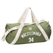 WrestleMania 34 Canvas Duffel Bag