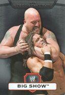 2010 WWE Platinum Trading Cards Big Show 37