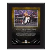 Kushida NXT Takeover 31 10 x 13 Commemorative Plaque