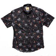Stone Cold Steve Austin RSVLTS Button Down Shirt
