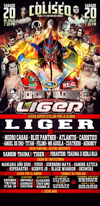 CMLL Sabados De Coliseo (July 20, 2019)