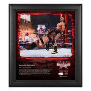 Cesaro WrestleMania 37 15x17 Commemorative Plaque