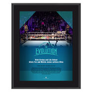 Evolution 2018 Trish & Lita 10 x 13 Photo Plaque