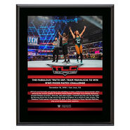 Fabulous Truth TLC 2018 10 x 13 Commemorative Plaque