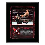 Finn Bálor Extreme Rules 2018 10 x 13 Plaque