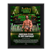Jinder Mahal Money in the Bank 2017 10 x 13 Commemorative Photo Plaque