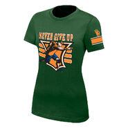 John Cena 15X Green Women's Authentic T-Shirt