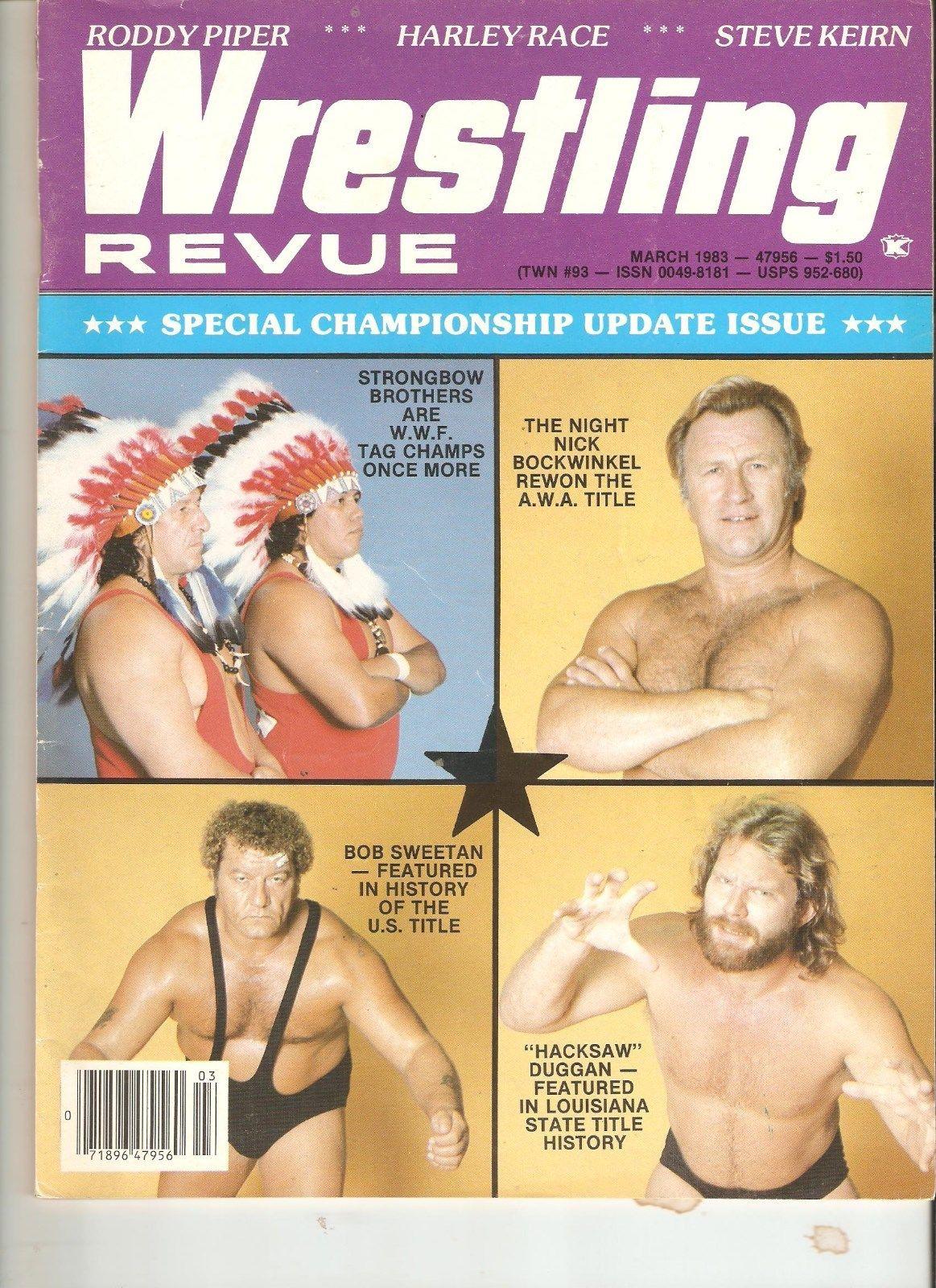 Wrestling Revue - March 1983