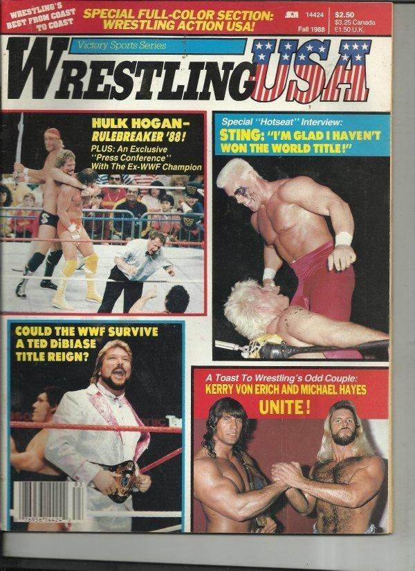 Wrestling USA - Fall 1988