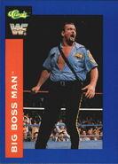 1991 WWF Classic Superstars Cards Big Boss Man 25