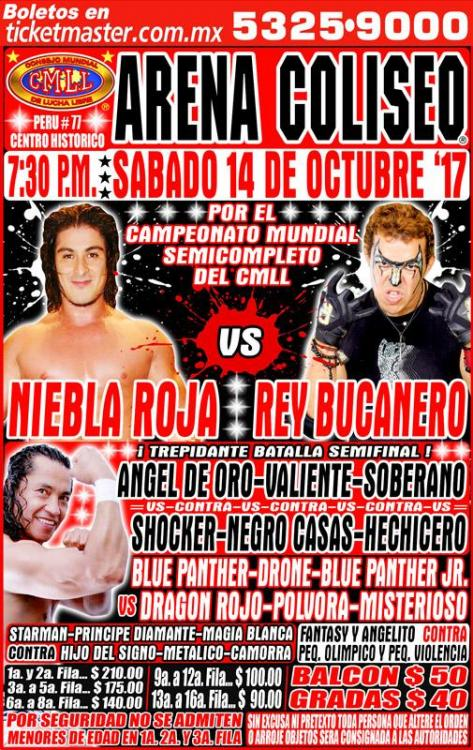 CMLL Sabados De Coliseo (October 14, 2017)