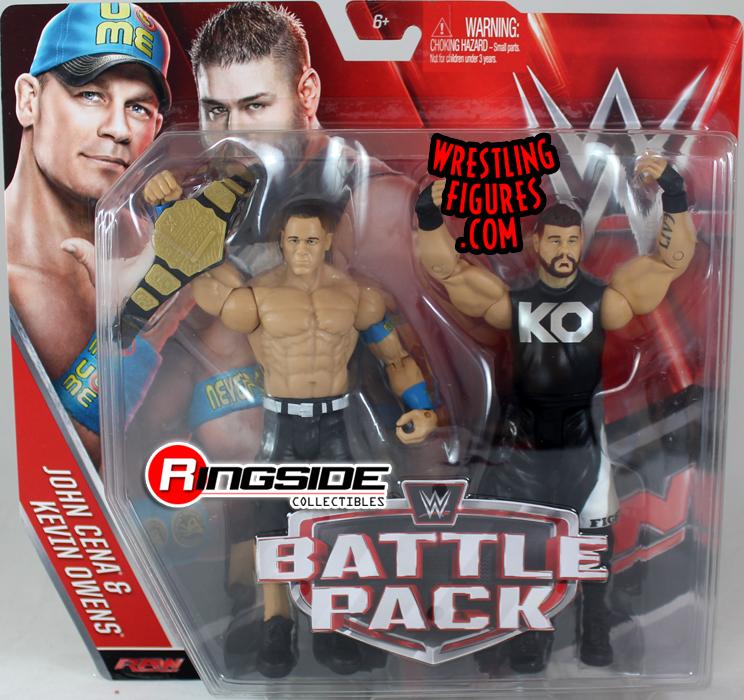 WWE Battle Packs 39