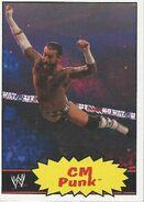 2012 WWE Heritage Trading Cards CM Punk 12