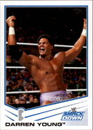 2013 WWE (Topps) Darren Young 53