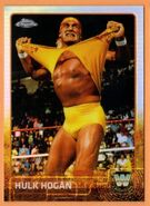 2015 Chrome WWE Wrestling Cards (Topps) Hulk Hogan 83
