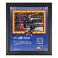 Alexa Bliss SummerSlam 2021 15x17 Commemorative Plaque