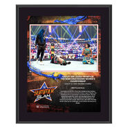 Bayley SummerSlam 2020 10x13 Commemorative Plaque