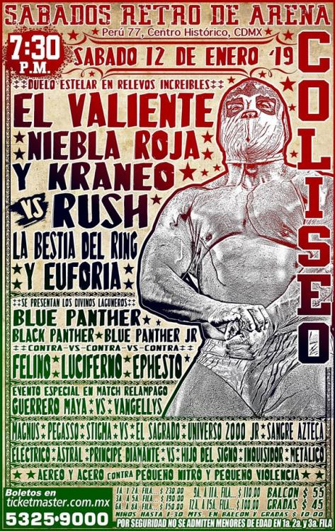 CMLL Sabados De Coliseo (January 12, 2019)