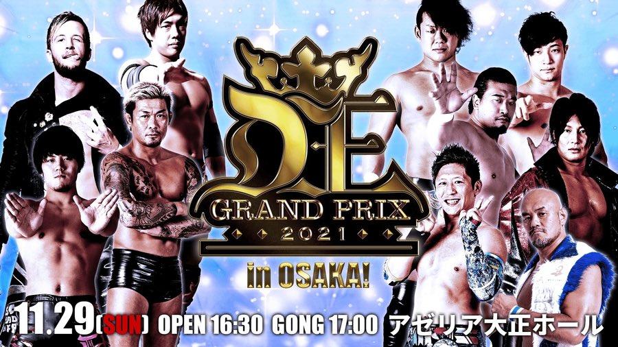 DDT D-Ou Grand Prix 2021 In Osaka!