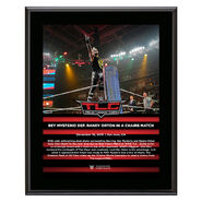 Rey Mysterio TLC 2018 10 x 13 Commemorative Plaque
