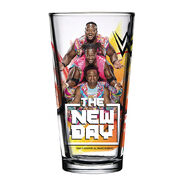 The New Day 2018 Toon Tumbler Pint Glass