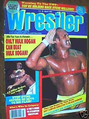 The Wrestler - March 1988