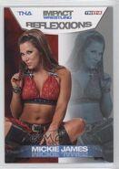 2012 TNA Impact Wrestling Reflexxions Trading Cards (Tristar) Mickie James 19