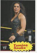 2012 WWE Heritage Trading Cards Tamina Snuka 38