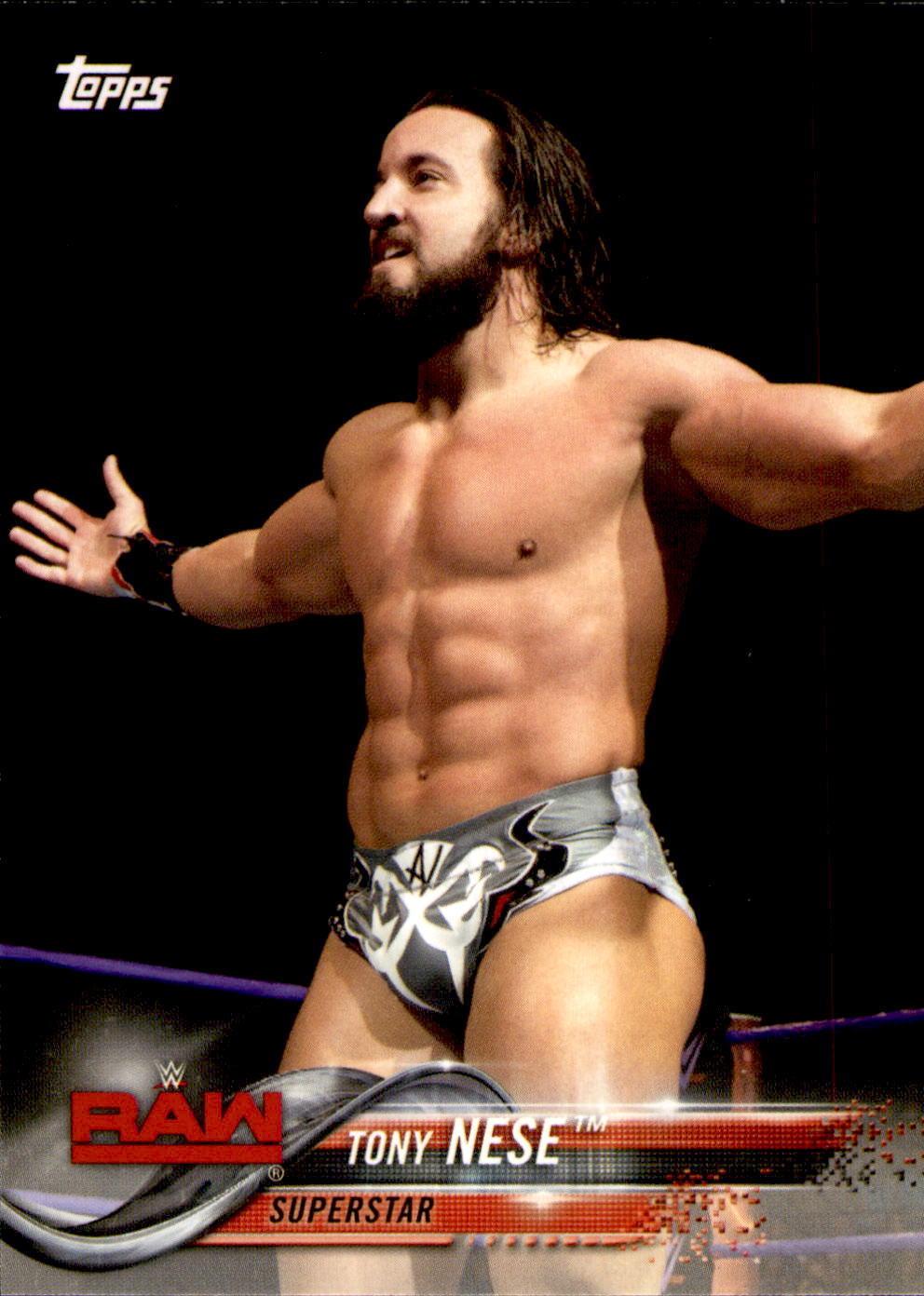 2018 WWE Wrestling Cards (Topps) Tony Nese (No.92)