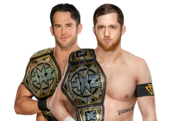 O Reilly Strong NXT Tag Team Champions