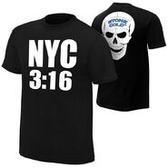 Stone Cold Steve Austin New York 316 New York Edition T-Shirt