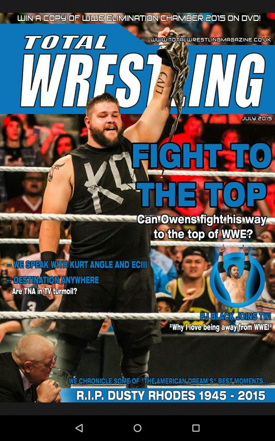 Total Wrestling - July 2015