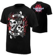 Undertaker vs triple h end of an era t shirt