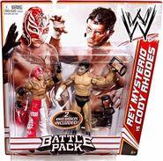 WWE Battle Packs 13 Rey Mysterio & Cody Rhodes