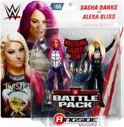 WWE Battle Packs 60 Alexa Bliss & Sasha Banks