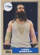 2017 WWE Heritage Wrestling Cards (Topps) Luke Harper 56