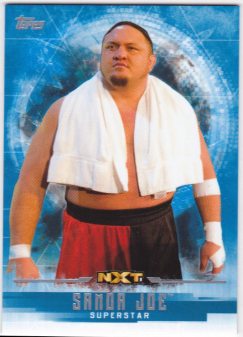 2017 WWE Undisputed Wrestling Cards (Topps) Samoa Joe (No.53)