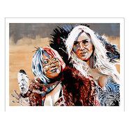 Charlotte & Asuka 11 x 14 Rob Schamberger Art Print
