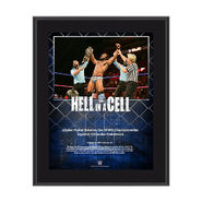 Jinder Mahal Hell In A Cell 2017 10 x 13 Commemorative Photo Plaque
