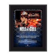 Natalya Hell In A Cell 2017 10 x 13 Commemorative Photo Plaque