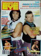 Wrestling Eye - May 1987